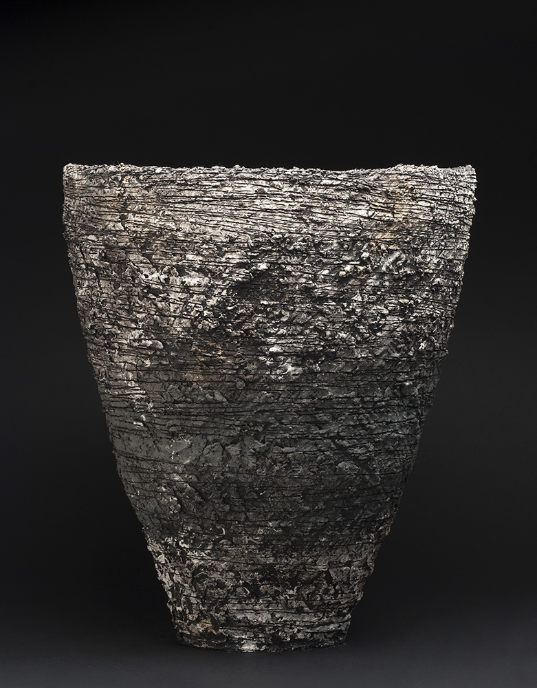 Sarah Purvey    Crossover - Landscape Series  , 2013 Ceramic 22.05 x 18.5 x 17.32 inches 56 x 47 x 44 cm SPu 3
