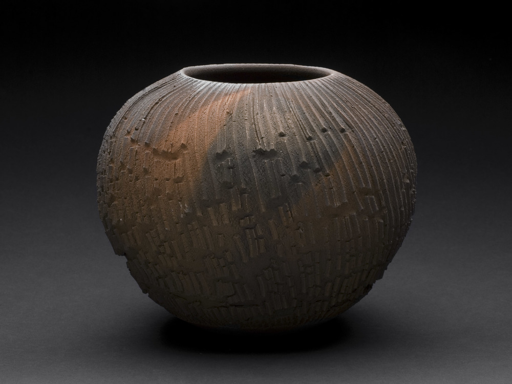 Tom Charbit    The Organ Series: L'embrasure (The Doorway)  , 2012 Stoneware, woodfired at 1300°C (15 hours), Train Kiln, Lagorce 5.5 x 7 inches 14 x 17.8 cm TCh 5