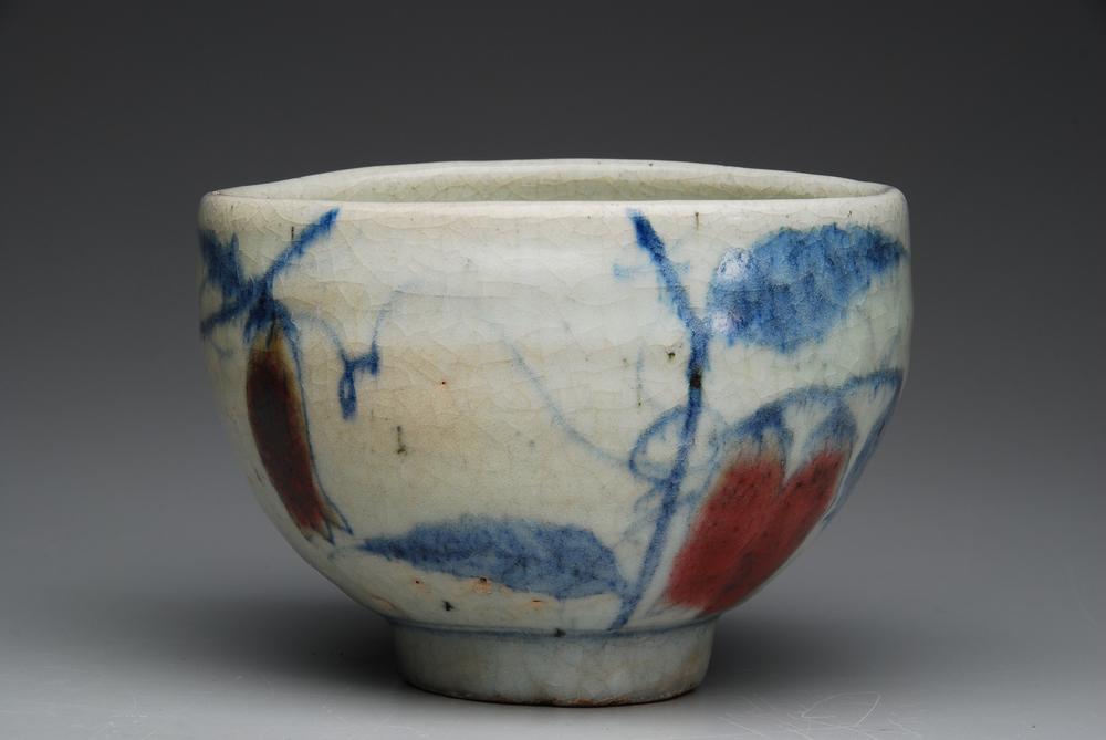Tae Kwon Ryu    Choson Baek Cha Mang Gae Boon Chasabal  , 2008 Ceramic 4 x 5.5 inches 10.2 x 14 cm TKR 2