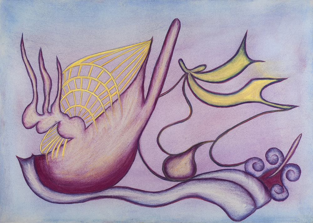 Anna Zemánková, Untitled, c. 1960s, Pastel on paper, 23.62 x 31.5 inches, 60 x 80 cm, AZe 527