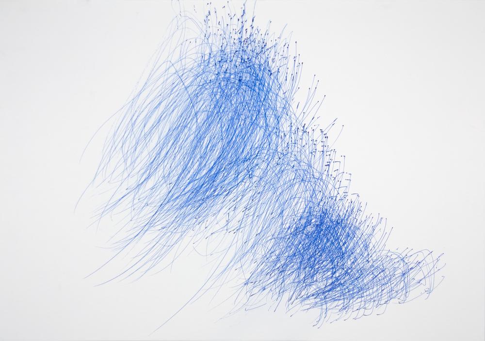 Yuichi Saito    Doraemon  , 2007 Pen, paper 15 x 21.25 inches 38.1 x 54 cm YS 12