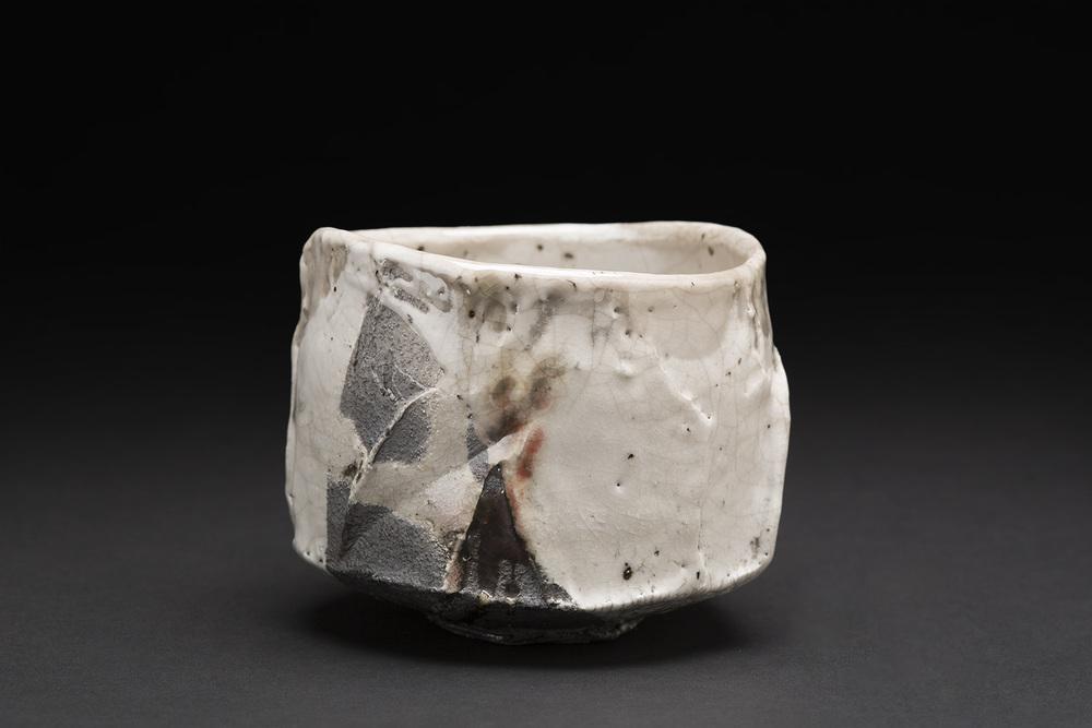 Akira Satake    Chawan  , 2015 Ceramic 3.75 x 4 x 4 inches 9.5 x 10.2 x 10.2 cm ASa 28