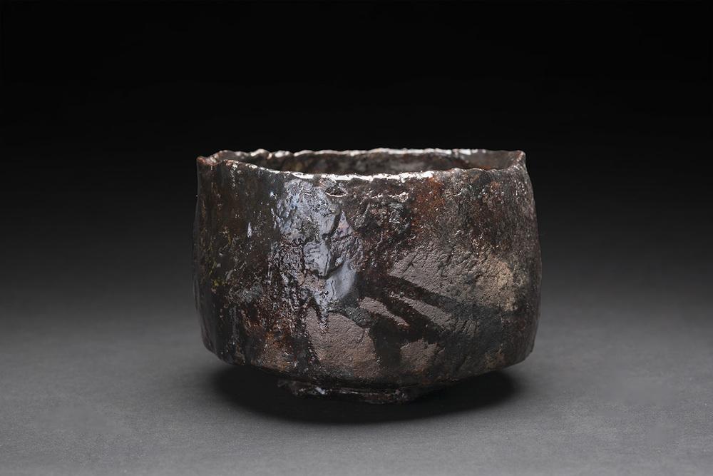 Akihiro Nikaido    Chawan  , 2015 Ceramic 3.5 x 5 x 5 inches 8.9 x 12.7 x 12.7 cm ANk 14