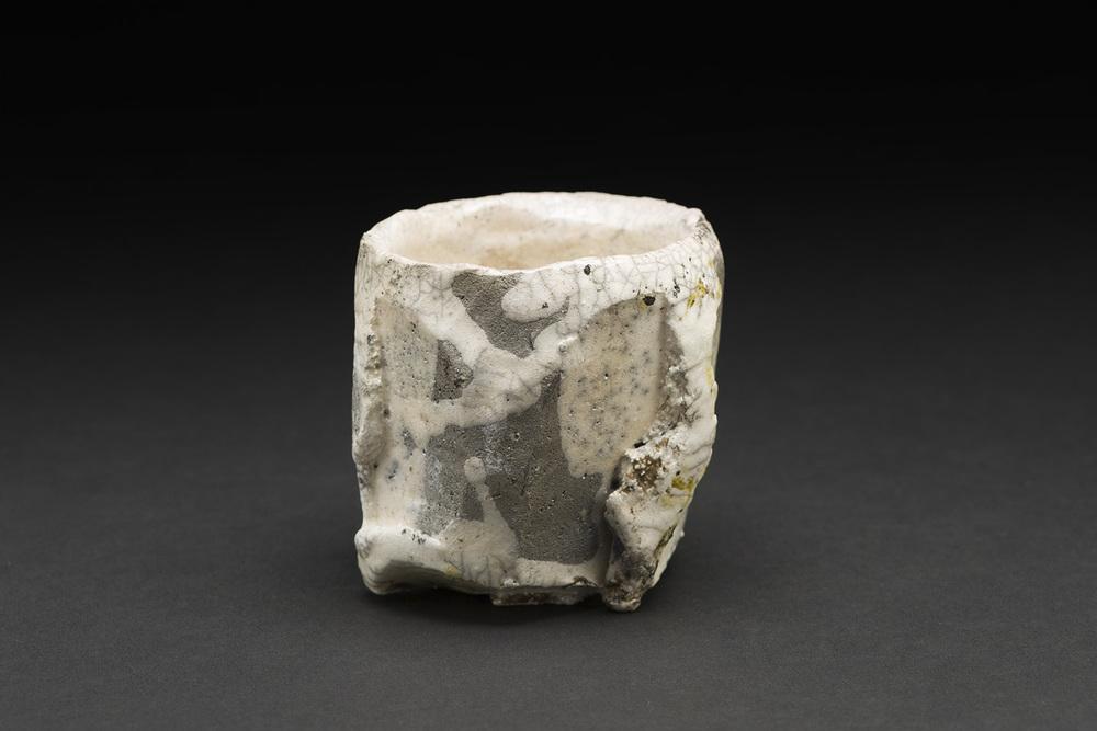Akihiro Nikaido    Guinomi  , 2015 Ceramic 2.5 x 2.5 x 2.5 inches 6.4 x 6.4 x 6.4 cm ANk 17