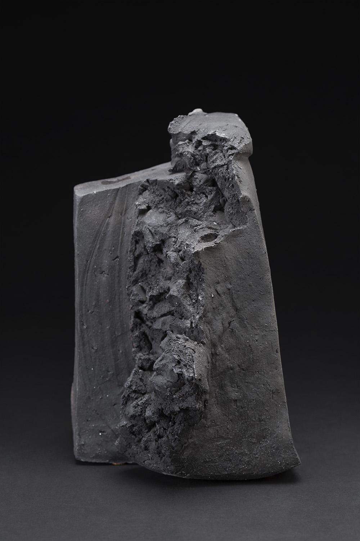 Akira Satake    Untitled  , 2015 Stoneware 9 x 7 x 6 inches 22.9 x 17.8 x 15.2 cm ASa 29
