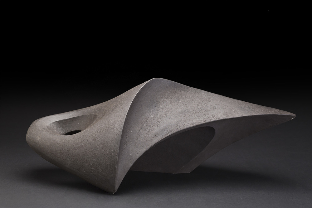 Rebecca Buck    Up is Down VI  , 2015 Ceramic 7.87 x 19.29 x 12.2 inches 20 x 49 x 31 cm RBk 2