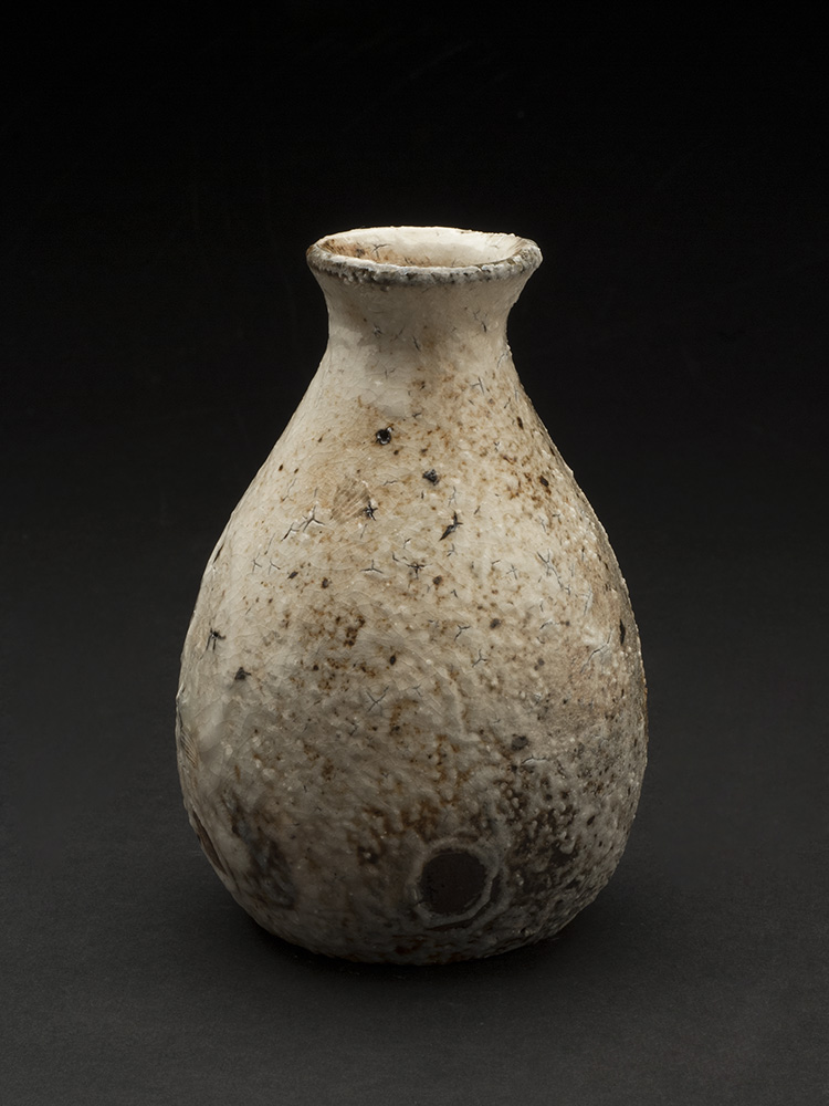 Ryutaro Yamada    Tokkuri (sake bottle)  , n.d. Ceramic 4.75 x 3.5 inches 12.1 x 8.9 cm RYu 1
