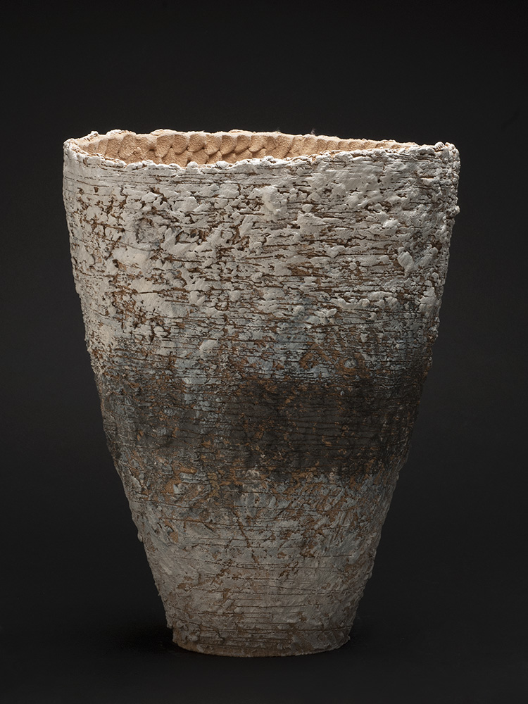 Sarah Purvey    October - Landscape Series  , 2013 Ceramic 19.29 x 14.57 x 9.45 inches 49 x 37 x 24 cm SPu 5