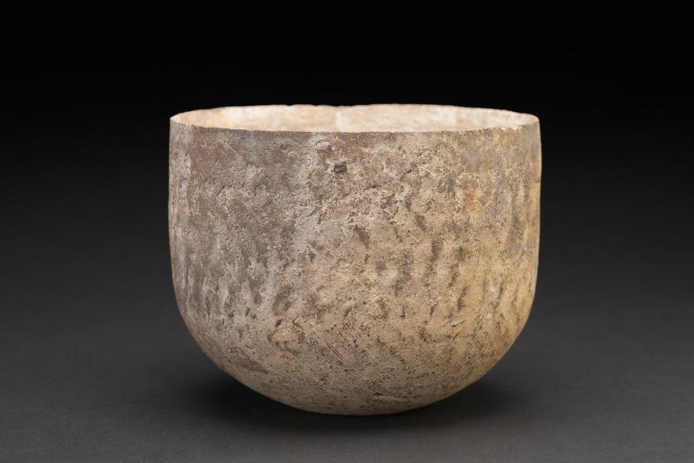 Akihiro Nikaido    Bowl  , 2015 Ceramic 5.25 x 7 x 7 inches 13.3 x 17.8 x 17.8 cm ANk 11