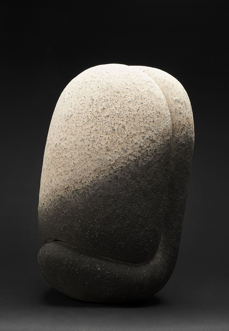 Kenji Gomi    Untitled  , 2010 Saiki Ceramic 19 x 10 x 12 inches 48.3 x 25.4 x 30.5 cm GKe 6