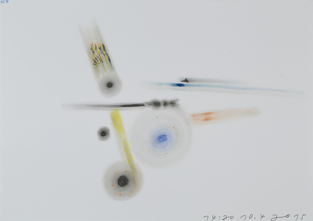 Tomáš Lampar    Untitled  , 2015 Pastel on paper 11.69 x 16.54 inches 29.7 x 42 cm TLa 40