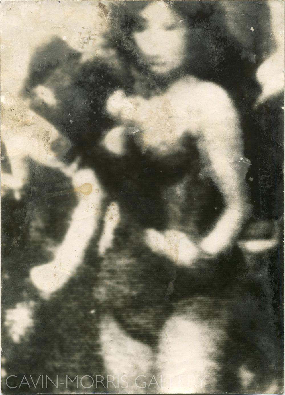 Miroslav Tichý    Untitled  , 1960s-1980s Gelatin silver print 7 x 5 inches 17.8 x 12.7 cm MTi 16