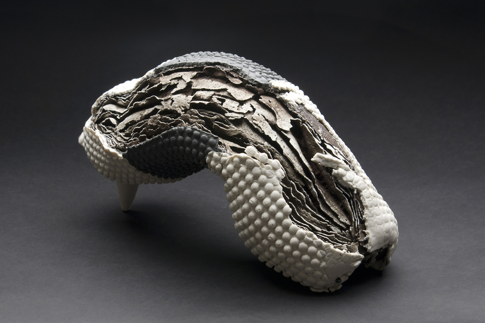 Rafa Perez    Untitled  , 2011 Ceramic 6.25 x 11 x 5.75 inches 15.9 x 27.9 x 14.6 cm RPe 11
