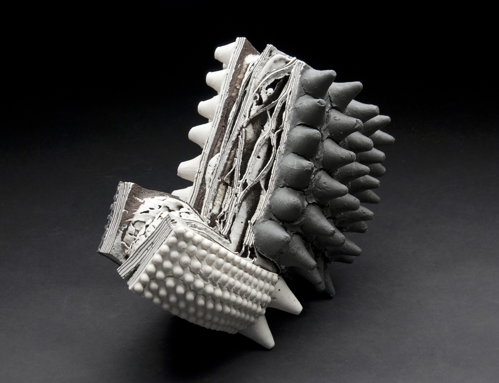 Rafa Perez    Untitled  , 2011 Ceramic 7.5 x 12 x 5.5 inches 19.1 x 30.5 x 14 cm RPe 14