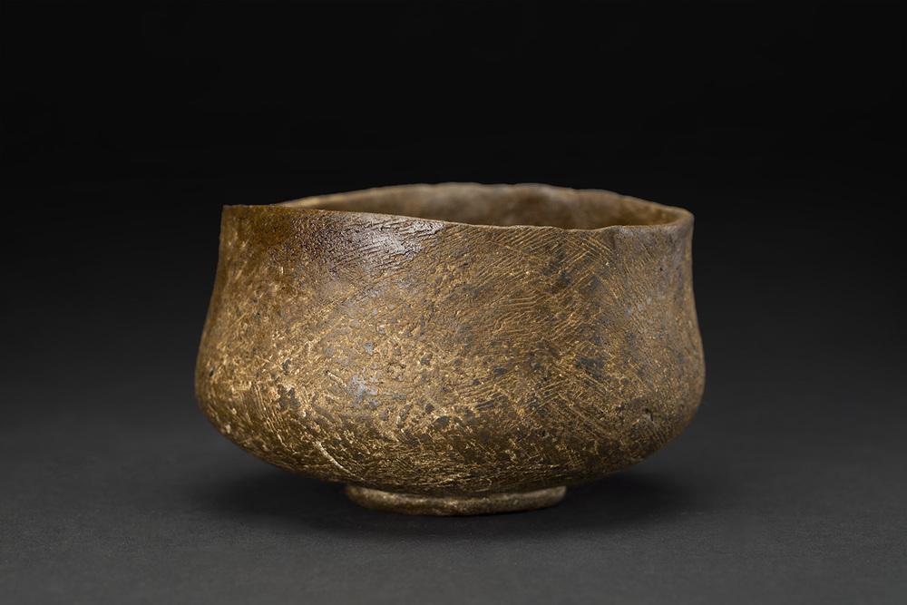 Akihiro Nikaido    Chawan  , 2016 Ceramic 3 x 3.5 x 4 inches 7.6 x 8.9 x 10.2 cm ANk 47
