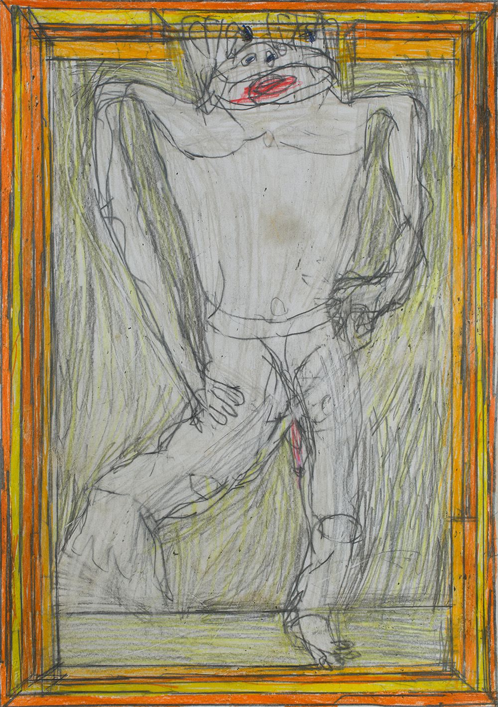 Josef Hofer Untitled, 2009 Graphite, colored pencil/paper 11.65 x 16.54 inches 29.6 x 42 cm JHo 14