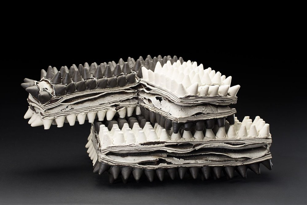 Rafa Perez Untitled, 2012 Porcelain, fired at 1150 degrees 23.62 x 14.17 x 11.02 inches 60 x 36 x 28 cm RPe 26