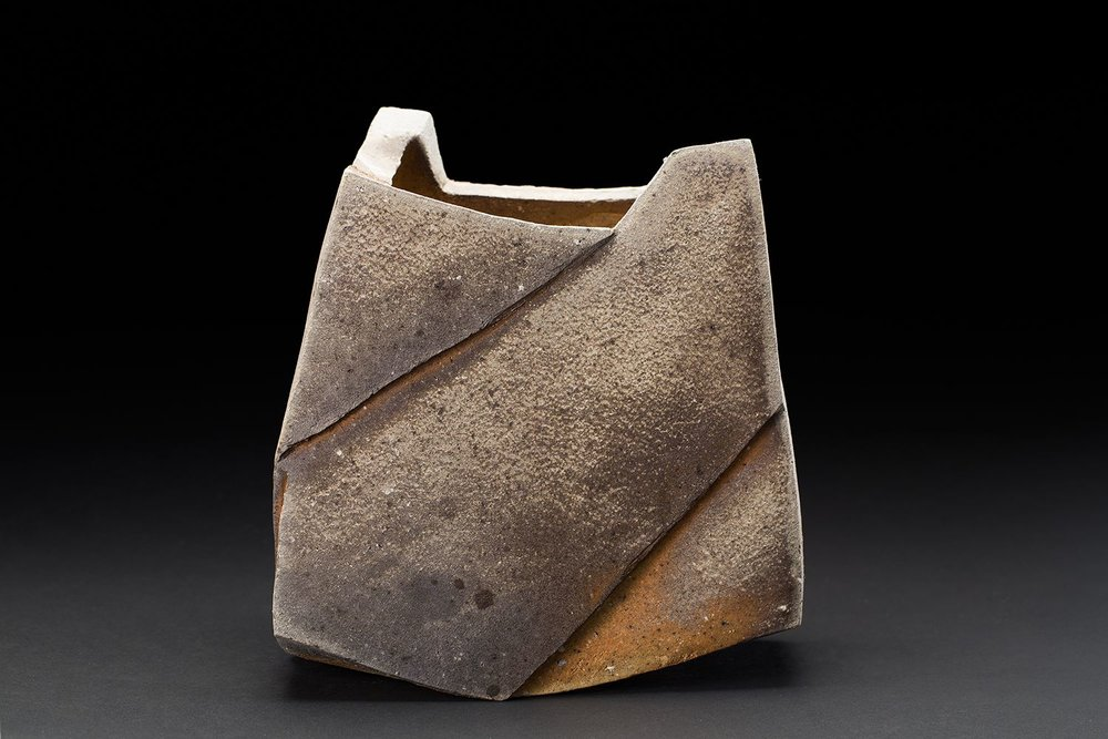 Tim Rowan Untitled, 2016 Woodfired ceramic 12 x 9 x 9 inches 30.5 x 22.9 x 22.9 cm TR 164