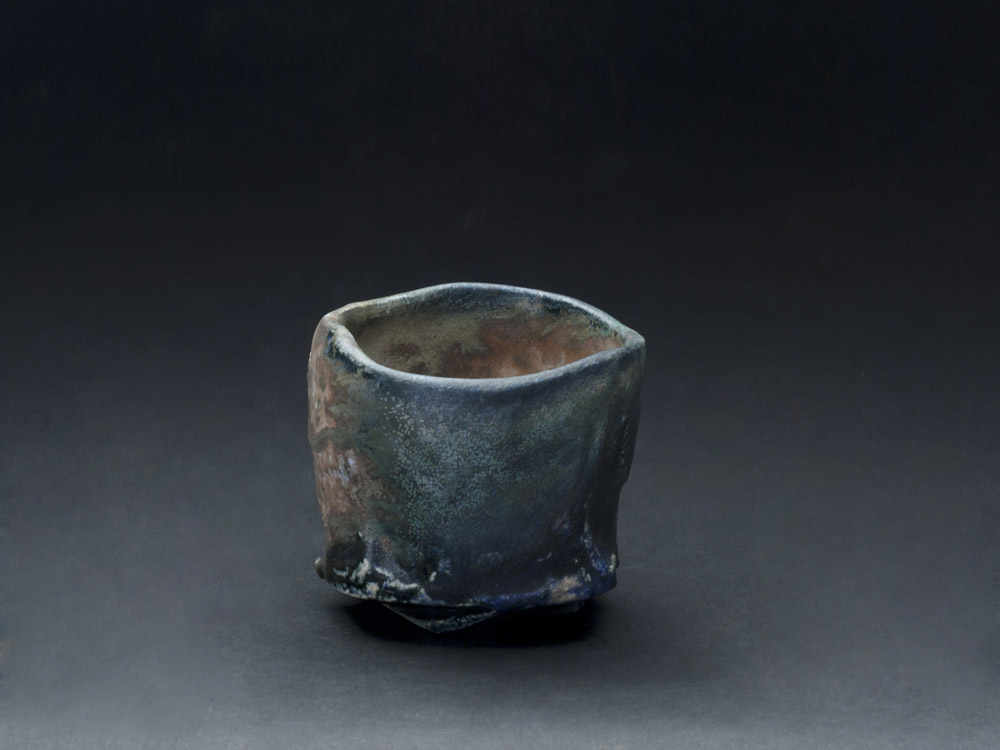 Jeff Shapiro Chawan, 2012 Ceramic 4 x 5 x 5 inches 10.2 x 12.7 x 12.7 cm JSh 48