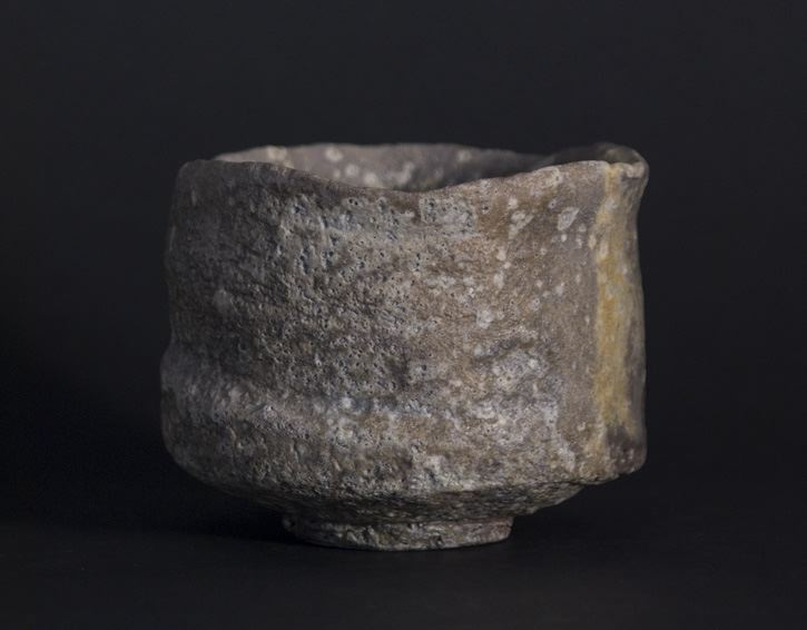 Peter Callas Chawan, 2010 Natural ash glaze, wood fired ceramic 5 x 4 x 3.5 inches 12.7 x 10.2 x 8.9 cm PCa 15
