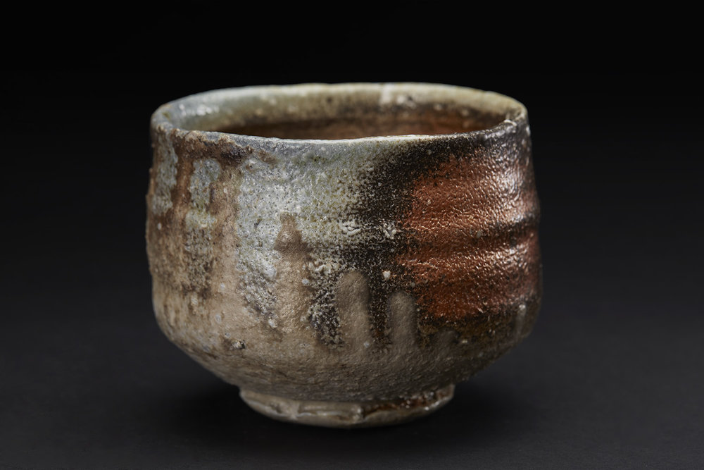 Joe Bruhin Chawan, 2016 Ceramic, natural ash glaze 4 x 5 x 5 inches 10.2 x 12.7 x 12.7 cm JoBr 1