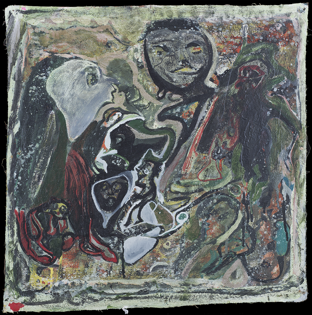 Leonard Daley Untitled, 1993 Mixed media on canvas 20 x 20 inches 50.8 x 50.8 cm LE 18