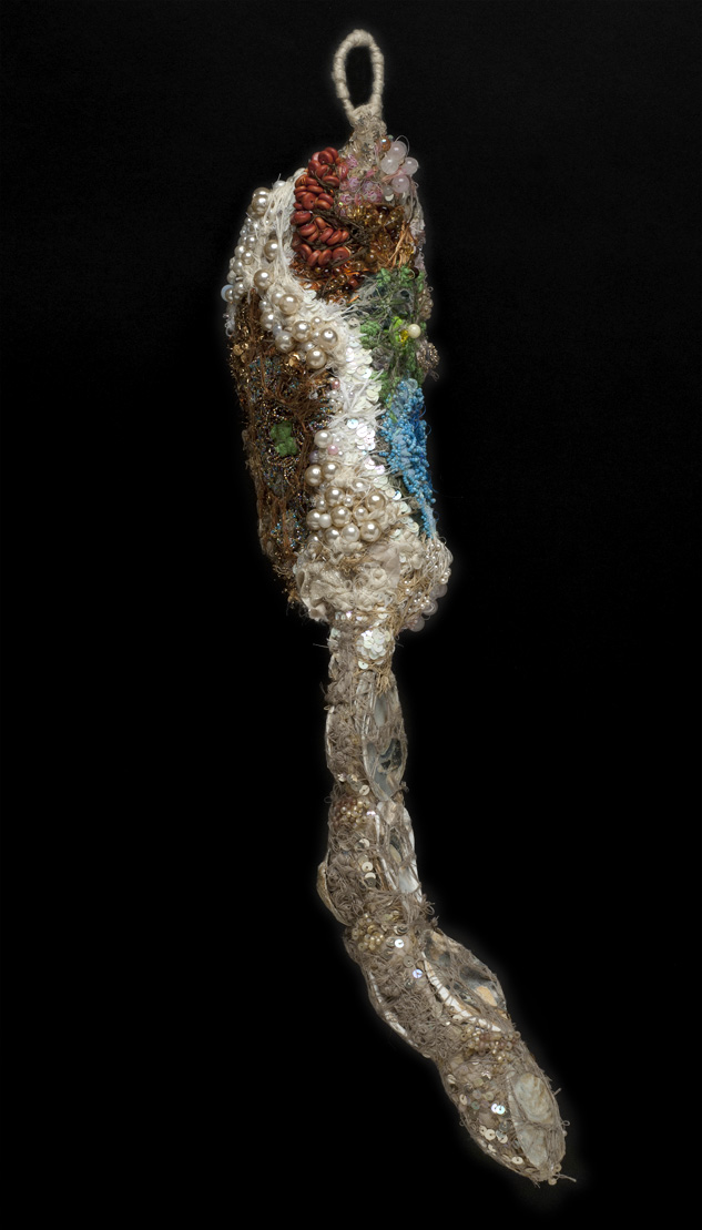 Sandra Sheehy Untitled, 2012 Mixed media/ Fabric 25.5 x 6 x 5 inches 64.8 x 15.2 x 12.7 cm SSe 83