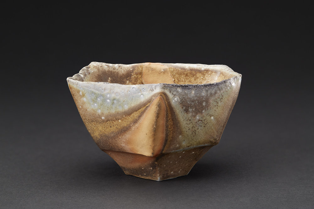 Tim Rowan    Untitled  , 2007 Woodfired Ceramic 3.5 x 5 x 3.5 inches 8.9 x 12.7 x 8.9 cm TR 51