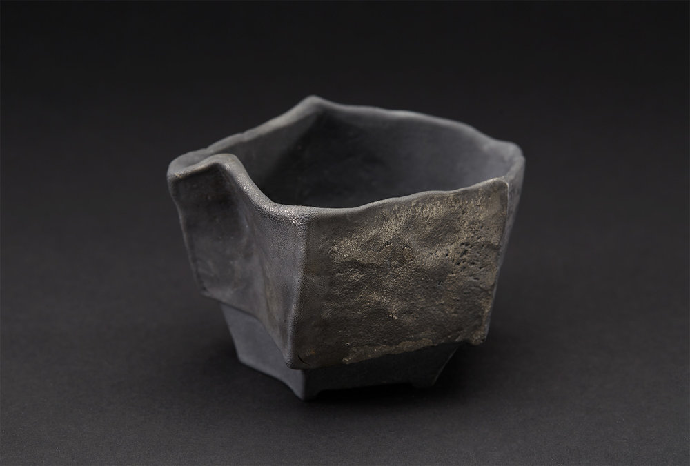 Tim Rowan    Untitled  , 2007 Woodfired Ceramic 3 x 5.5 x 3.5 inches 7.6 x 14 x 8.9 cm TR 54