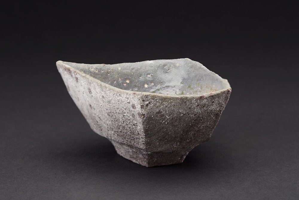 Tim Rowan    Untitled  , 2007 Woodfired Ceramic 2.25 x 5 x 4.5 inches 5.7 x 12.7 x 11.4 cm TR 55