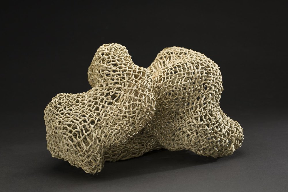 Chizu Sekiguchi    Windmill Palm Coral  , 2008 Windmill Palm 13.39 x 8.66 x 8.66 inches 34 x 22 x 22 cm ChS 2