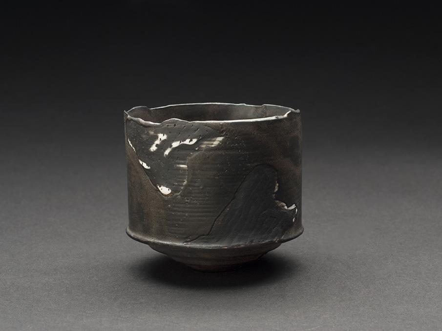 Hideo Matsumoto    Sakazuki  , 2013 Ceramic 2.28 x 2.48 x 2.56 inches 5.8 x 6.3 x 6.5 cm HMa 5