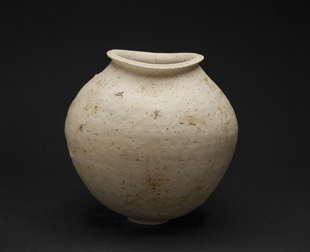 Koichi Uchida    Earthen Pot  , n.d. Ceramic 12 x 12 inches 30.5 x 30.5 cm KUc 1
