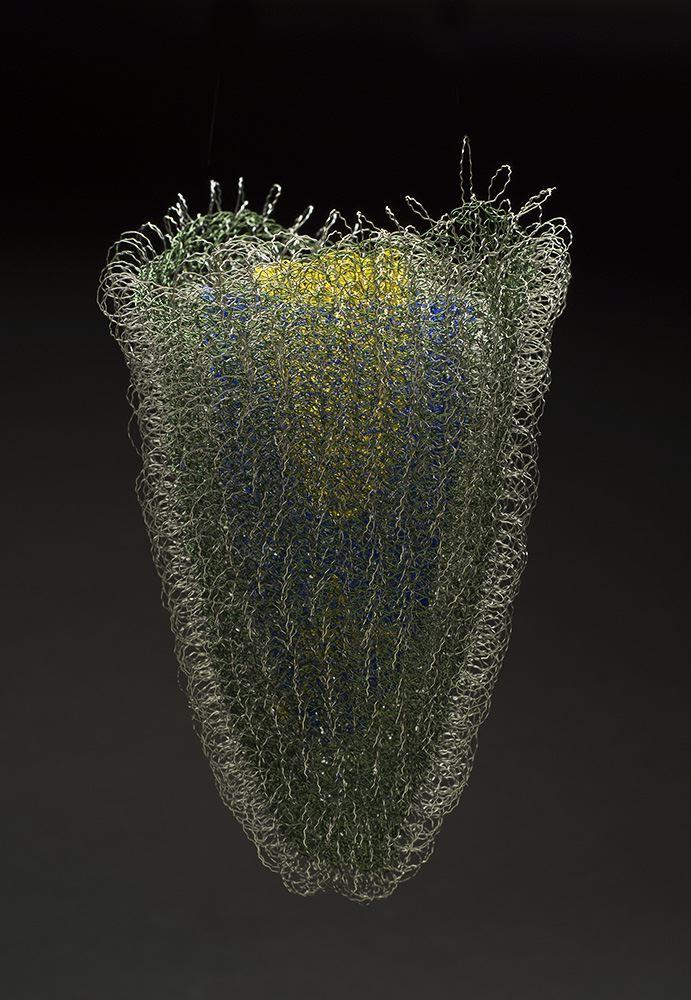 Mieko Kawase    Shine  , 2014 Wire 6.69 x 6.3 x 3.94 inches 17 x 16 x 10 cm MKe 8