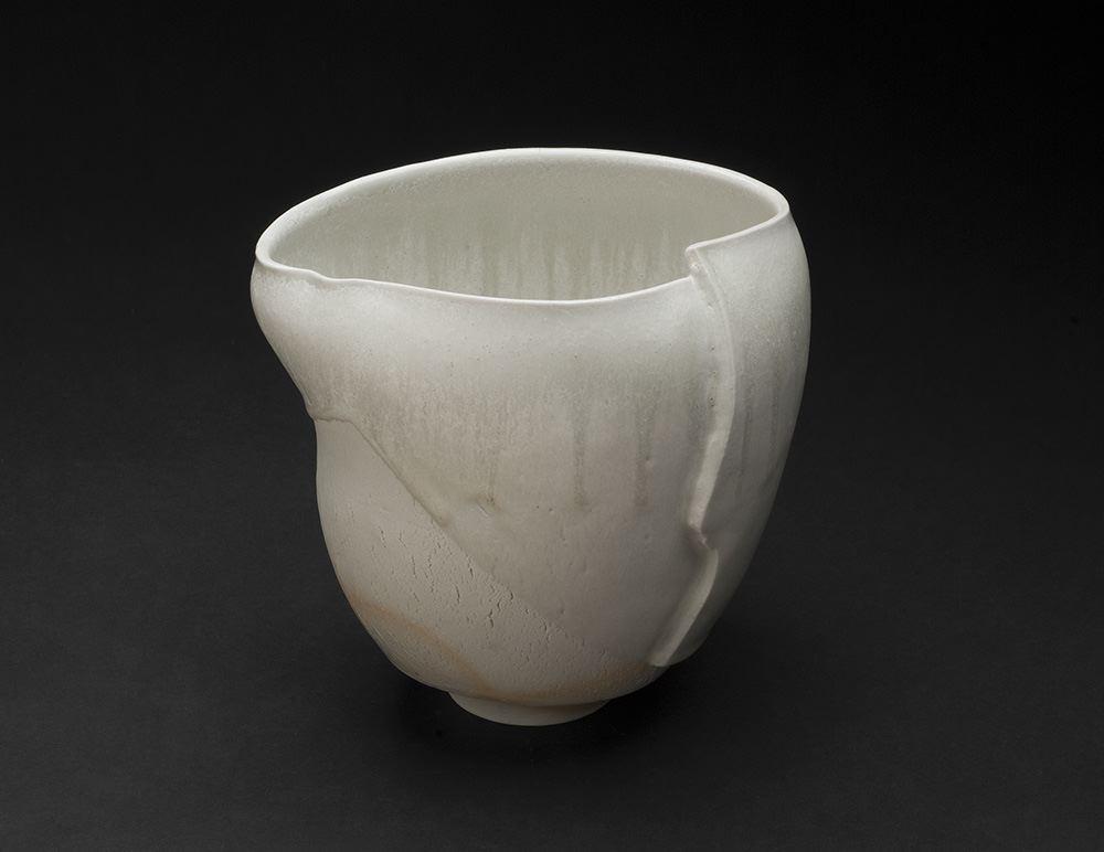 Mami Kato    Misho  , 2013 Porcelain 6.5 x 6.25 x 5.5 inches 16.5 x 15.9 x 14 cm MmK 6