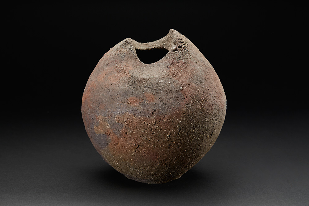 Mitch Iburg    Ember Buried Vessel  , 2017 Ceramic 9.5 x 9 x 9 inches 24.1 x 22.9 x 22.9 cm Mib 21