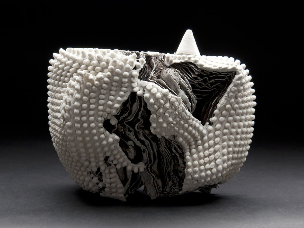 Rafa Perez    Untitled  , 2011 Ceramic 7.5 x 9.25 x 6.75 inches 19.1 x 23.5 x 17.1 cm RPe 15