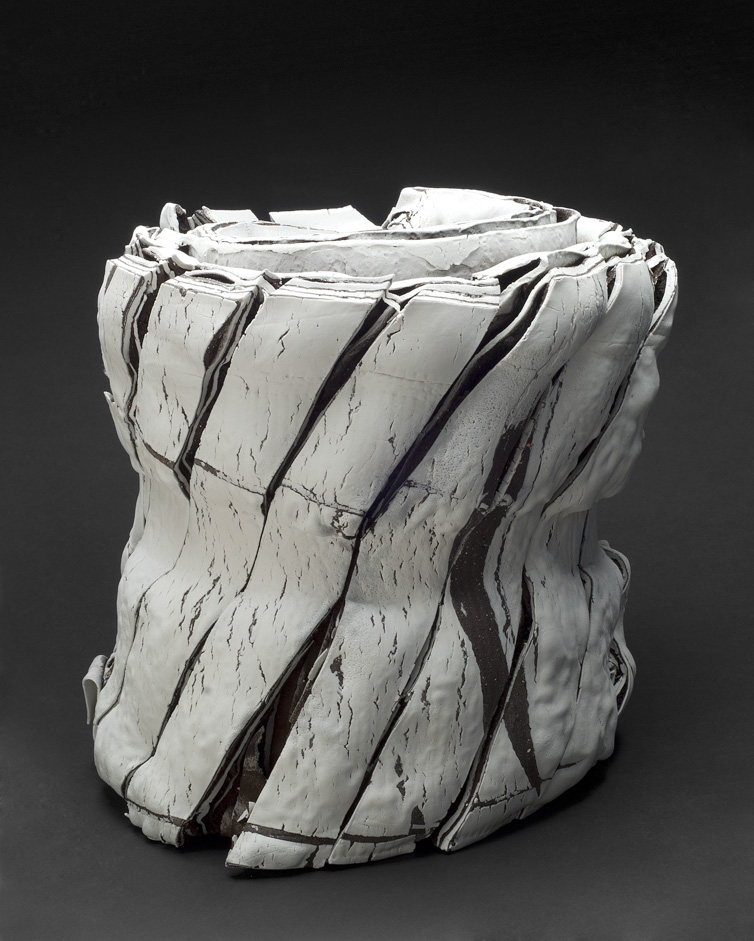 Rafa Perez    Untitled  , 2012 Porcelain, fired at 1150 degrees 15.75 x 14.96 inches 40 x 38 cm RPe 27