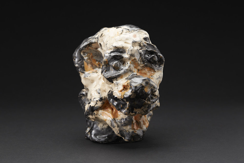 David Parsons    Untitled  , 2016 Ceramic 6 x 6.5 x 4.5 inches 15.2 x 16.5 x 11.4 cm DPa 4