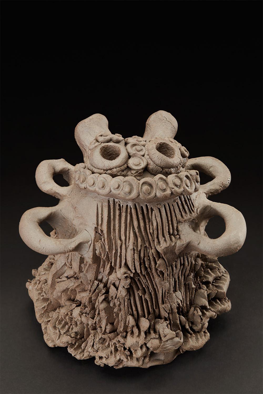 Masami Yamagiwa    Untitled  , 2007 Fired Ceramic 6 x 5.5 x 5 inches 15.2 x 14 x 12.7 cm MYa 5