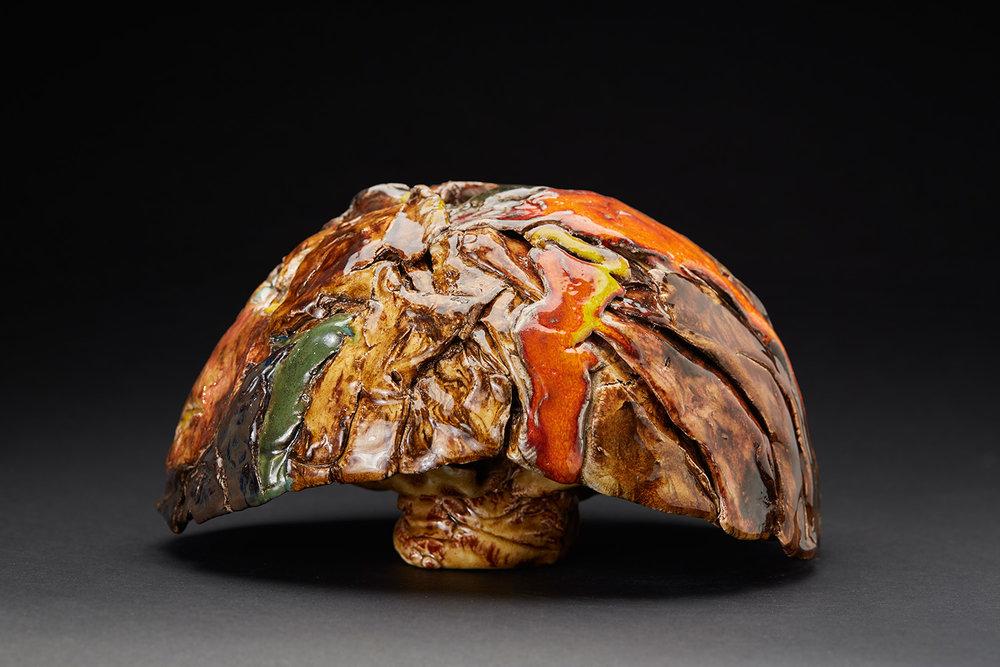 Straiph Wilson    Shekinah  , 2016 Ceramic 6 x 8.5 x 8 inches 15.2 x 21.6 x 20.3 cm StWi 1