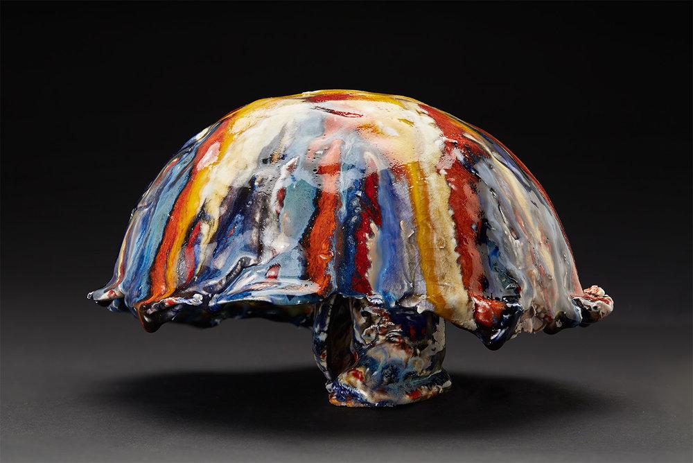 Straiph Wilson    Nadroc  , 2017 Ceramic 6 x 9 x 9 inches 15.2 x 22.9 x 22.9 cm StWi 6