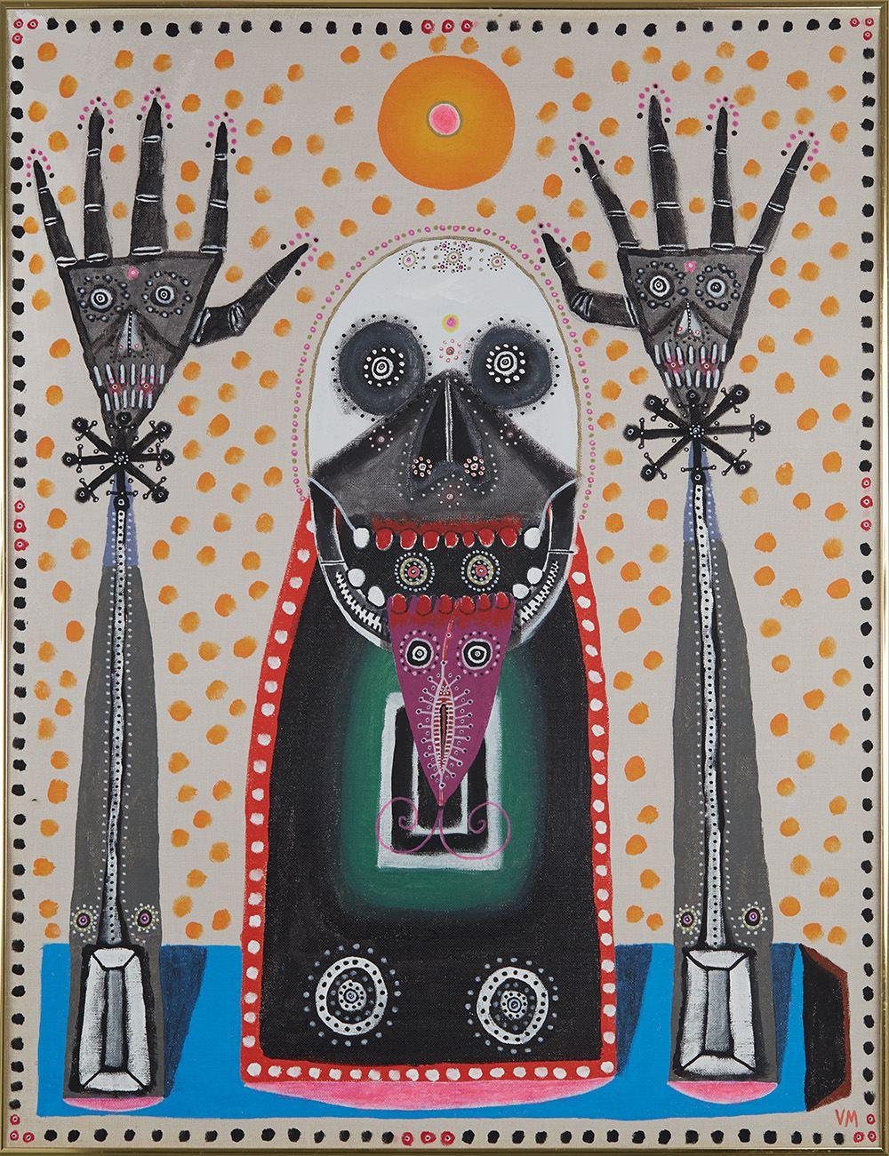 Gregory Van Maanen,Untitled, 11/7/2016, Acrylic on canvas, 35 x 27 inches, 88.9 x 68.6 cm, GVM 2570