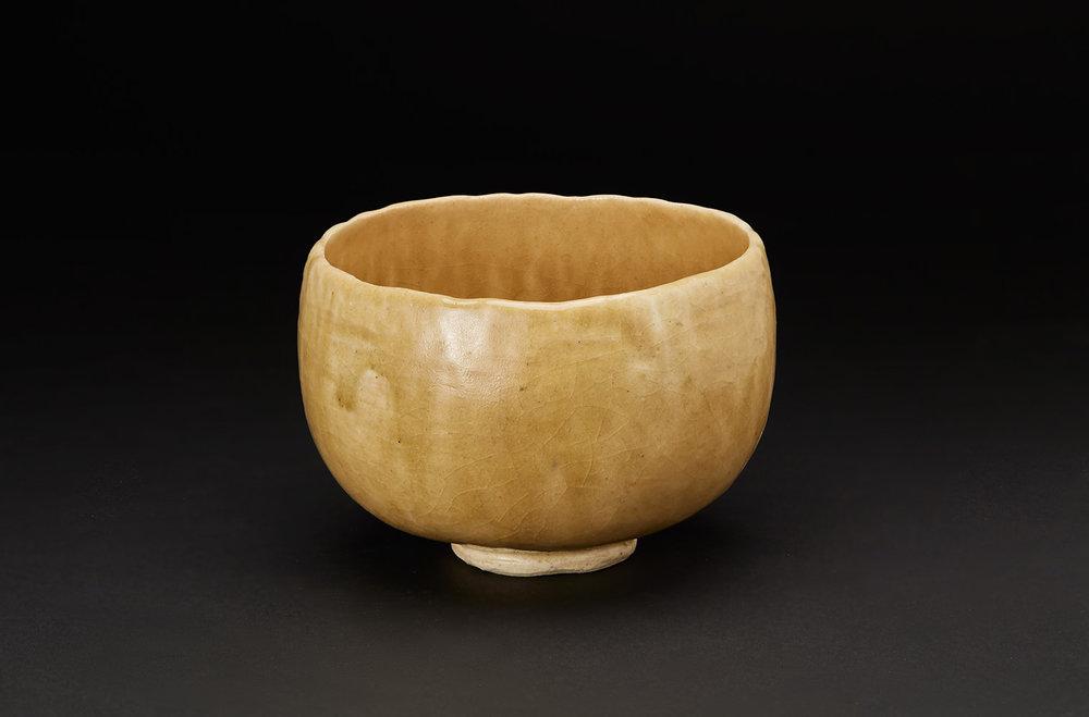 Akira Takeuchi  Chawan  , 2018 Mogusa clay, kara clay, iron glaze 3.75 x 5.5 x 5.5 inches 9.5 x 14 x 14 cm TaA 15