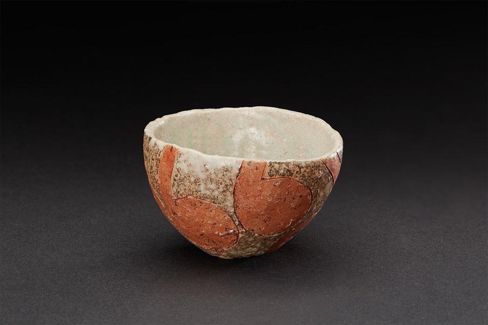 Katsumi Kako    Haikakuto Guinomi  , 2017 Ceramic 2 x 3 x 2.5 inches 5.1 x 7.6 x 6.4 cm KKa 11  $300