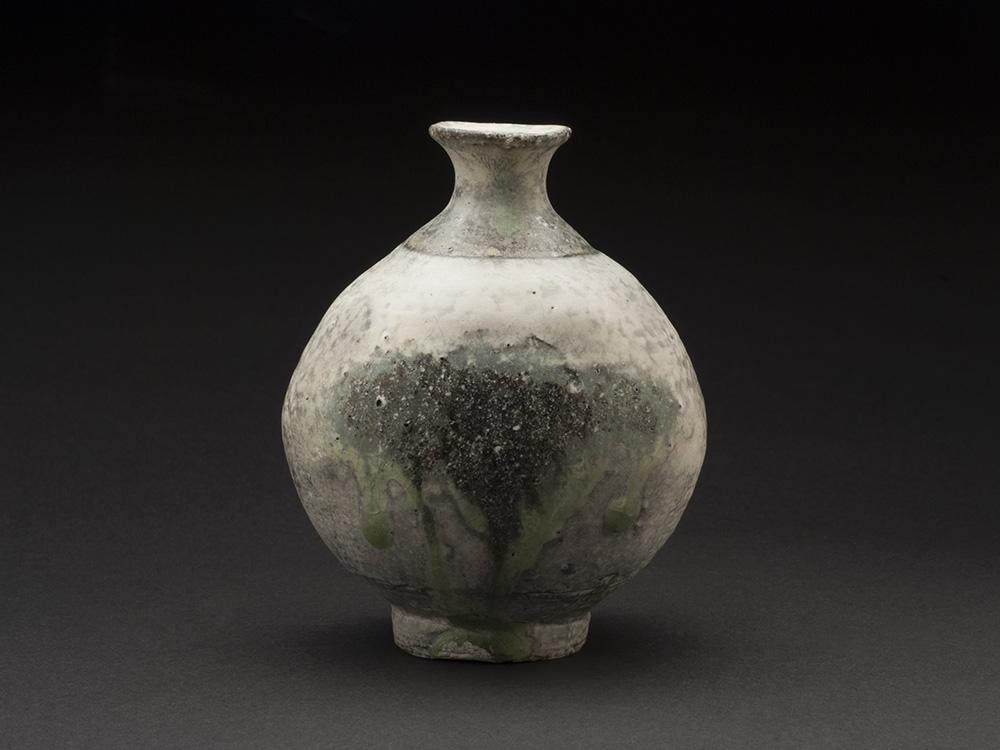 Yui Tsujimura    Tokkuri  , 2013 Ceramic 5.2 x 3.78 x 4.21 inches 13.2 x 9.6 x 10.7 cm TSY 11  $400
