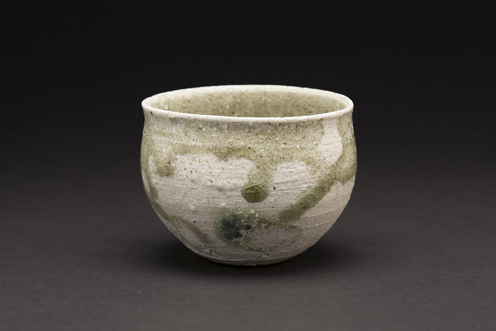 Yui Tsujimura    Guinomi  , n.d. Ceramic 2.75 x 3.5 x 3.5 inches 7 x 8.9 x 8.9 cm TSY 14  $175
