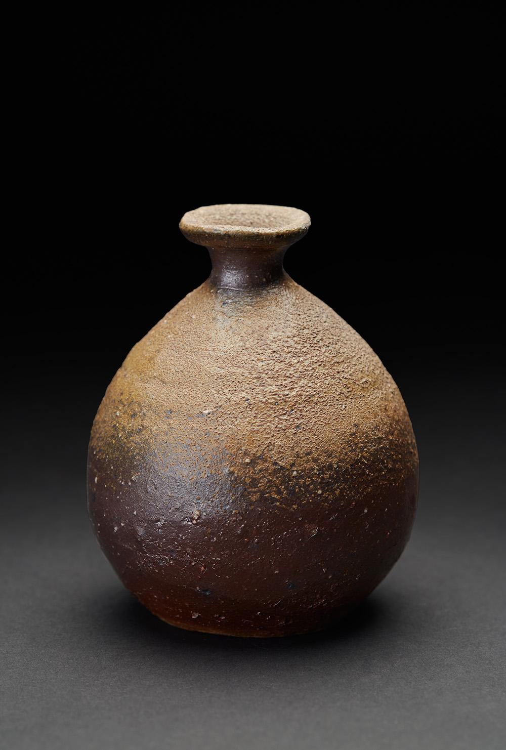 Hiroyuki Wakimoto    Tokkuri  , 2005 Woodfired clay 5 x 3.75 x 3.25 inches 12.7 x 9.5 x 8.3 cm HWak 8