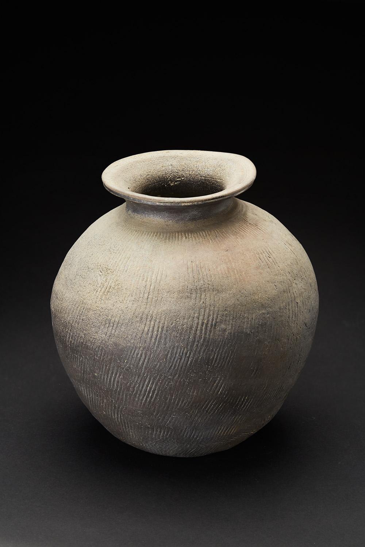 Korean Ceramics  Kimhae Jar  , Shilla Period (668–935) Ceramic 9.5 x 9 inches 24.1 x 22.9 cm KCer 22