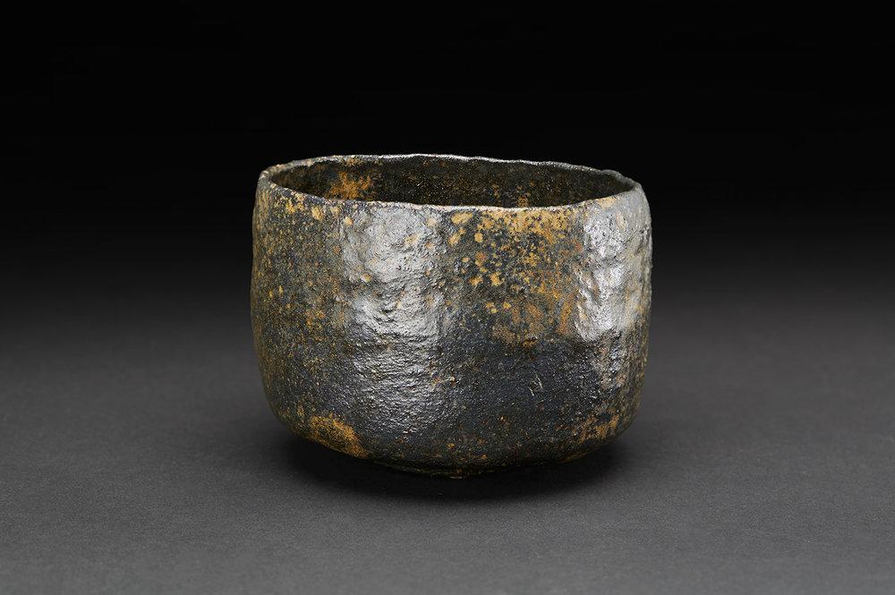 Akira Takeuchi  Chawan  , 2018 Ceramic 3.25 x 4.5 x 4.5 inches 8.3 x 11.4 x 11.4 cm TaA 18